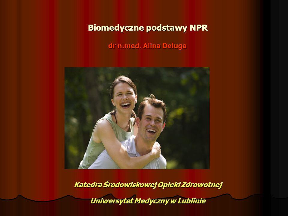 Biomedyczne podstawy NPR dr n.med. Alina Deluga Katedra Środowiskowej Opieki Zdrowotnej Uniwersytet Medyczny w Lublinie Biomedyczne podstawy NPR dr n.