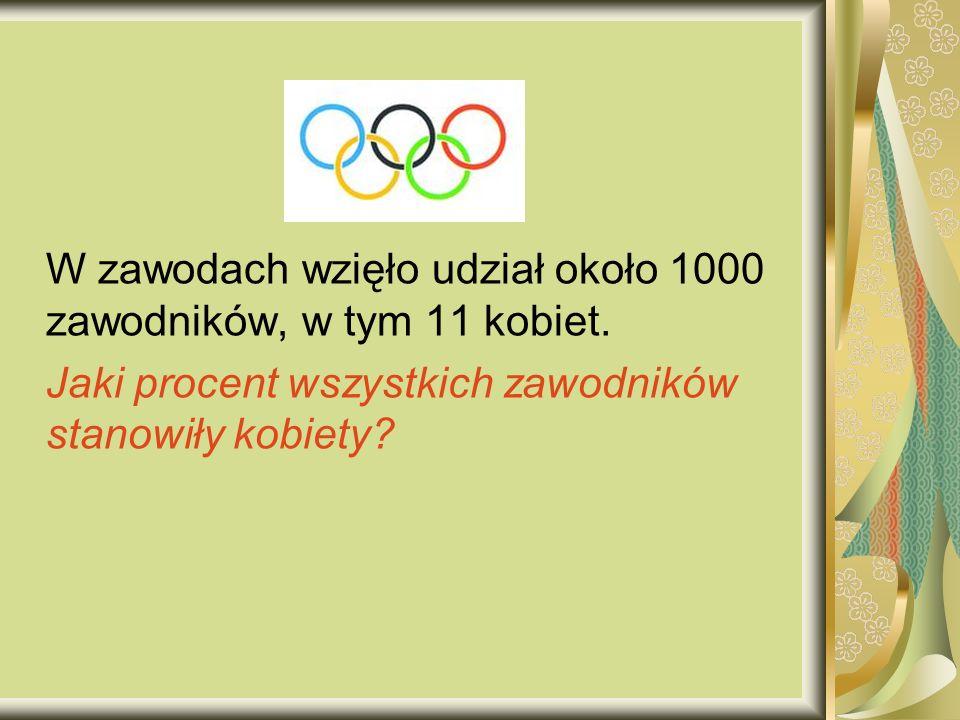 W zawodach wzięło udział około 1000 zawodników, w tym 11 kobiet.