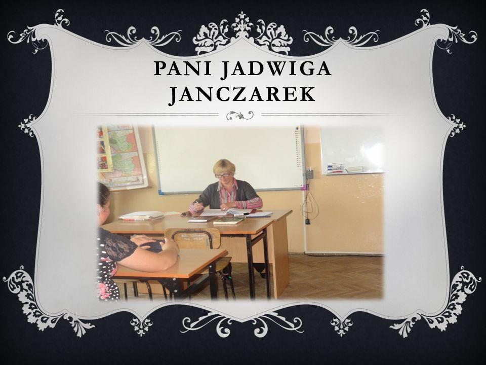 PANI JADWIGA JANCZAREK