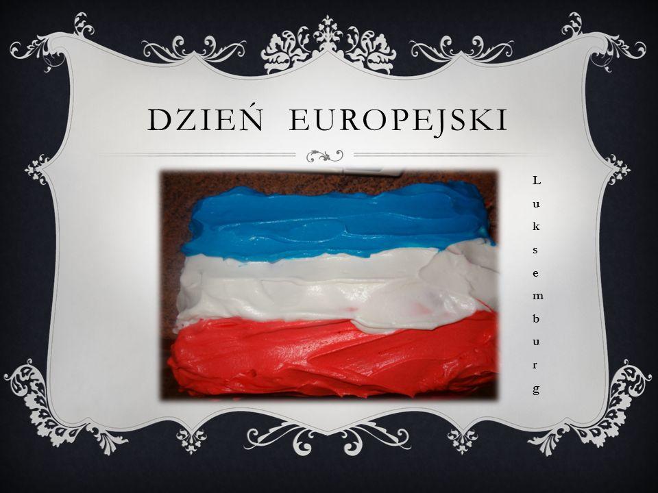 DZIEŃ EUROPEJSKI LuksemburgLuksemburg