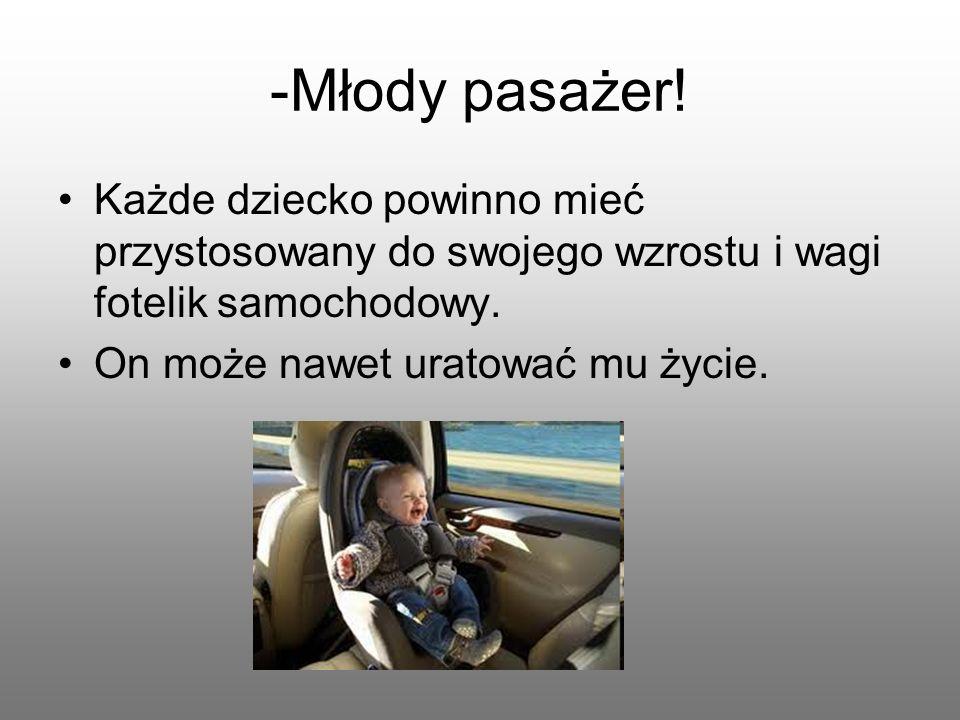 -Młody pasażer.