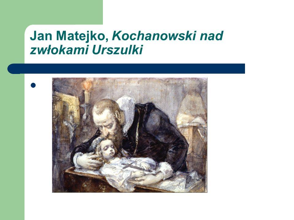 Jan Matejko, Kochanowski nad zwłokami Urszulki