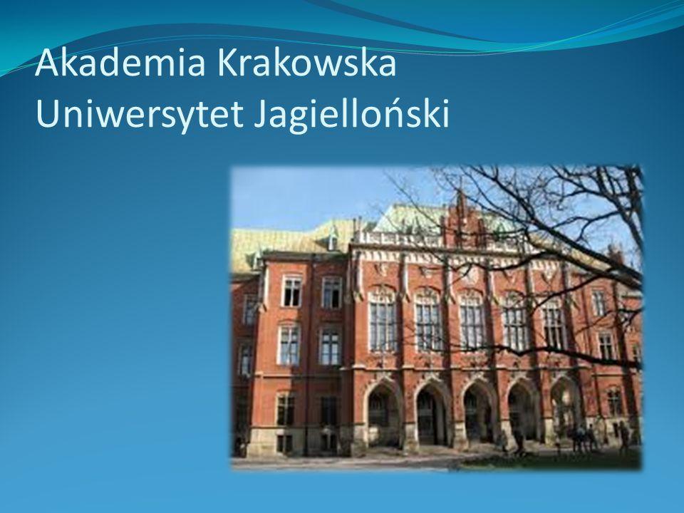Akademia Krakowska Uniwersytet Jagielloński