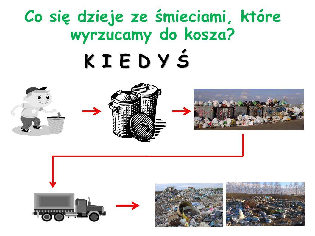 Co się dzieje ze śmieciami, które wyrzucamy do kosza? D Z I S I A J