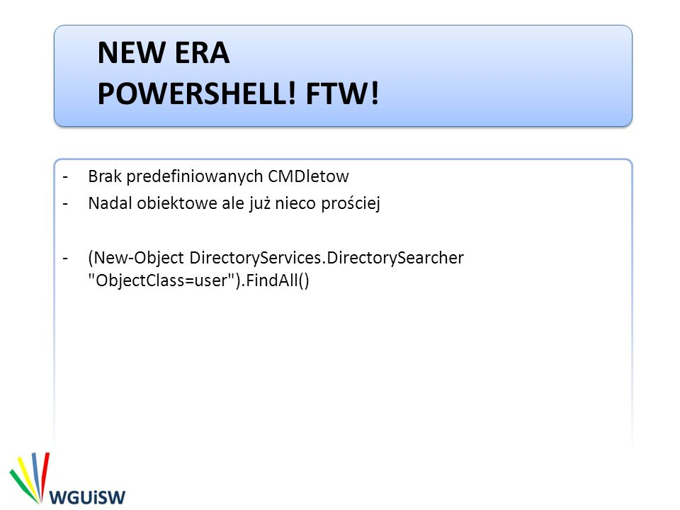 NEW ERA POWERSHELL.FTW.