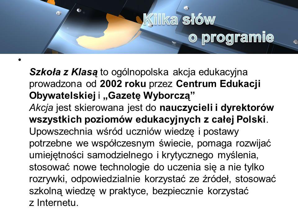 W ramach Szkoły z Klasą 2.0, skupiamy się na mądrym wprowadzaniu i wykorzystywaniu nowych technologii informacyjno-komunikacyjnych (TIK) w codziennej pracy szkolnej.