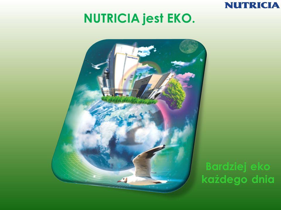 NUTRICIA jest EKO. Bardziej eko każdego dnia