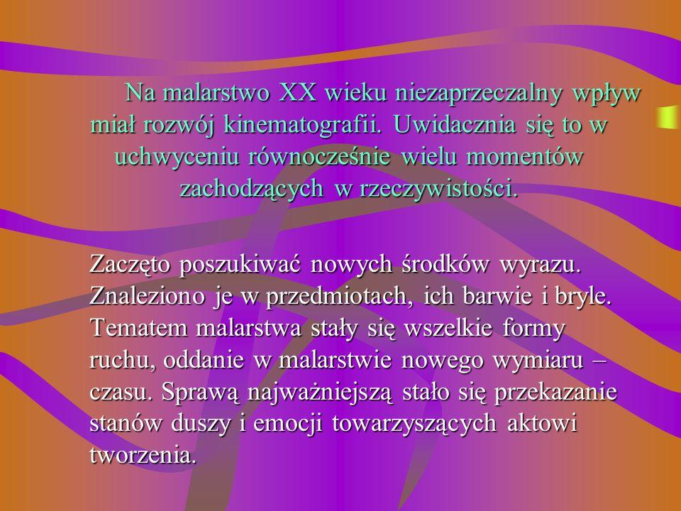 Prezentację wykonała: Zofia Greniuk nauczycielka plastyki. Ilustracje i treść: Multimedialna Encyklopedia PWN Sztuka 1999