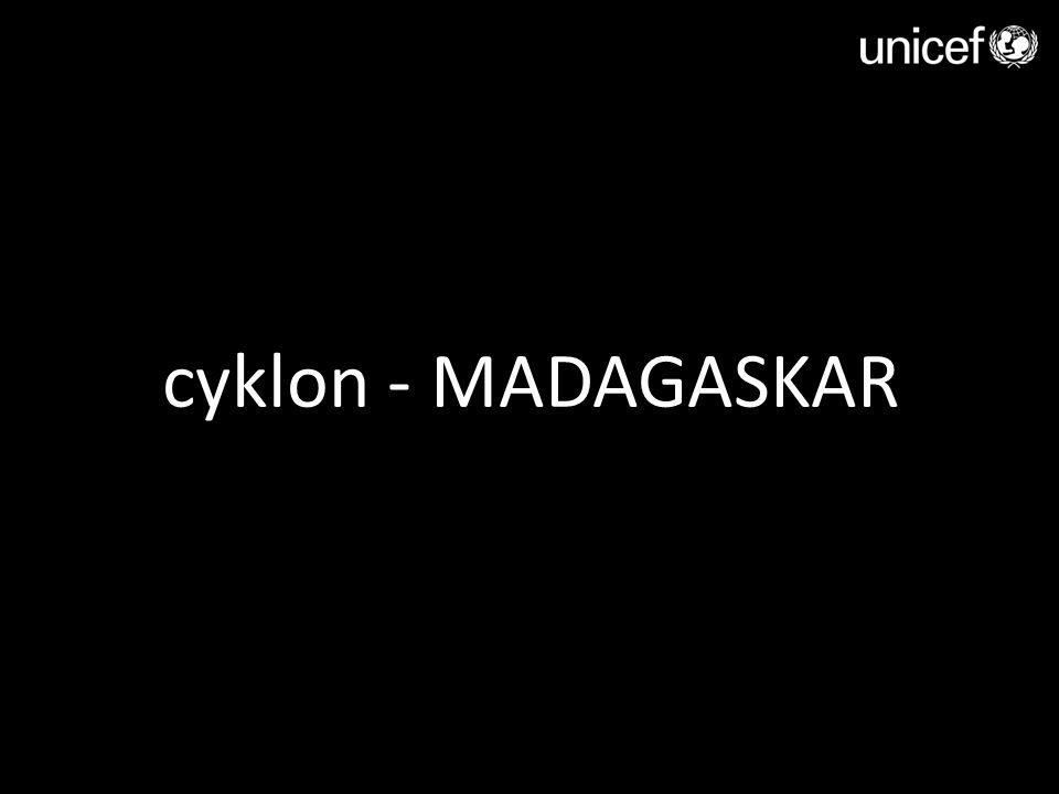 cyklon - MADAGASKAR