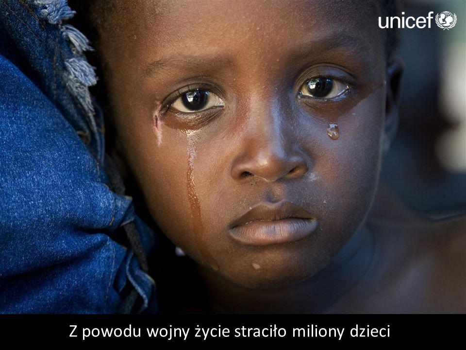 Z powodu wojny życie straciło miliony dzieci