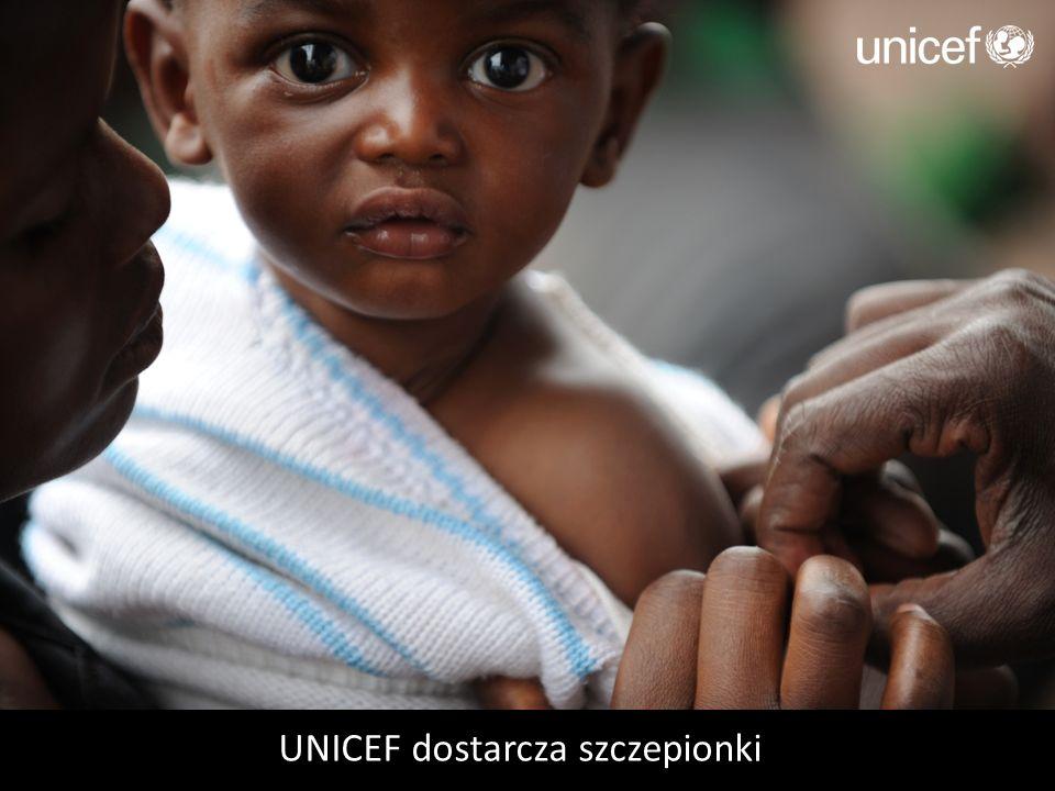 UNICEF dostarcza szczepionki