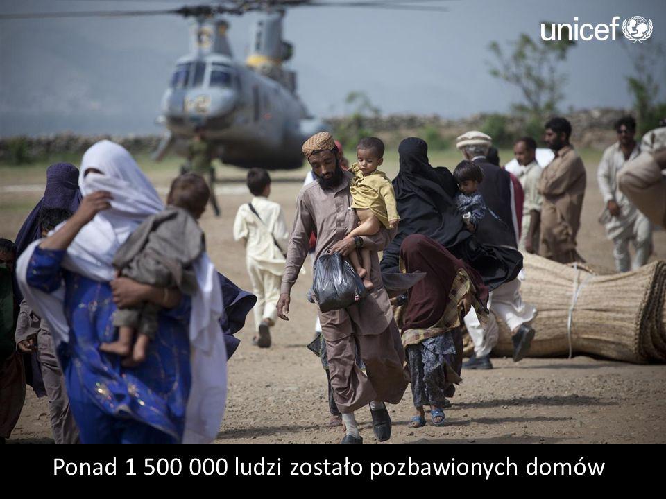 Ponad 1 500 000 ludzi zostało pozbawionych domów
