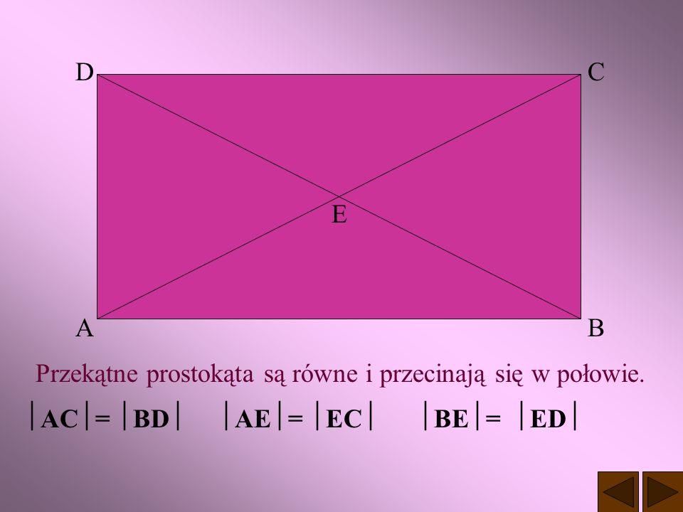 PROSTOKĄT Jest to czworokąt, który ma wszystkie kąty proste. a a b b