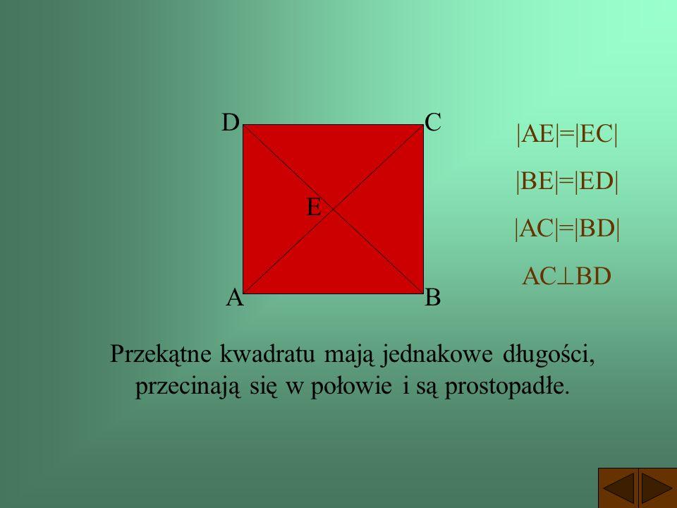 Kwadrat Jest to czworokąt, który ma wszystkie kąty proste i wszystkie boki równej długości. a a