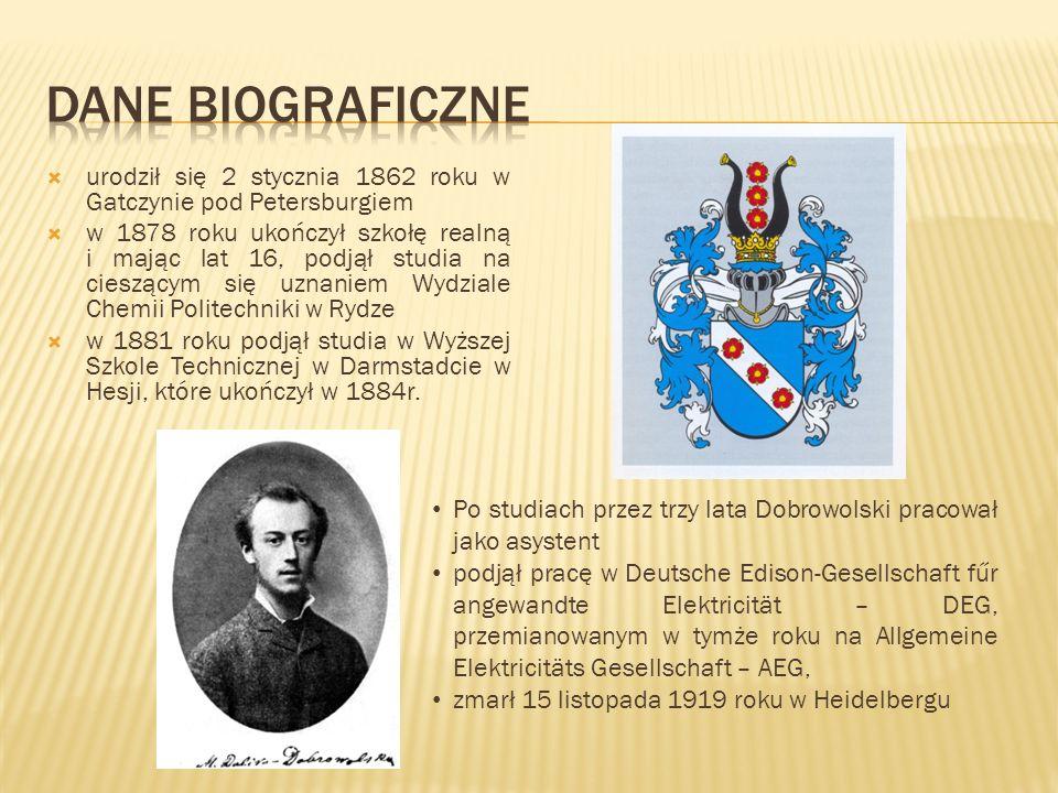 urodził się 2 stycznia 1862 roku w Gatczynie pod Petersburgiem w 1878 roku ukończył szkołę realną i mając lat 16, podjął studia na cieszącym się uznan
