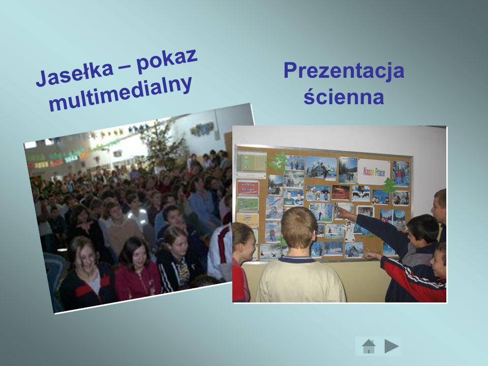 Prezentacja ścienna Jasełka – pokaz multimedialny