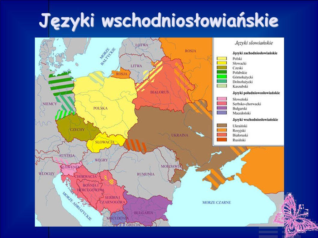 Języki wschodniosłowiańskie