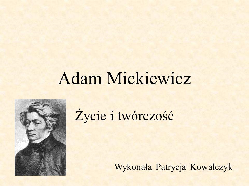 Dzieciństwo i młodość Urodził się 24 grudnia 1798 roku w Nowogródku na Litwie i zawsze Litwę uważał za swoją ojczyznę.