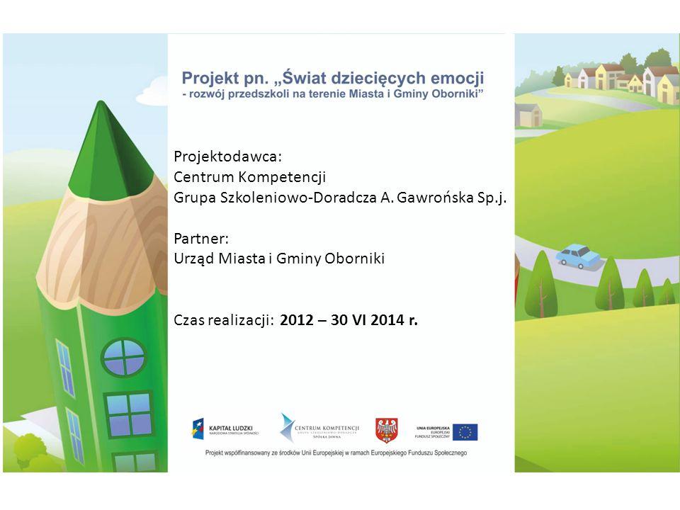 Projektodawca: Centrum Kompetencji Grupa Szkoleniowo-Doradcza A.