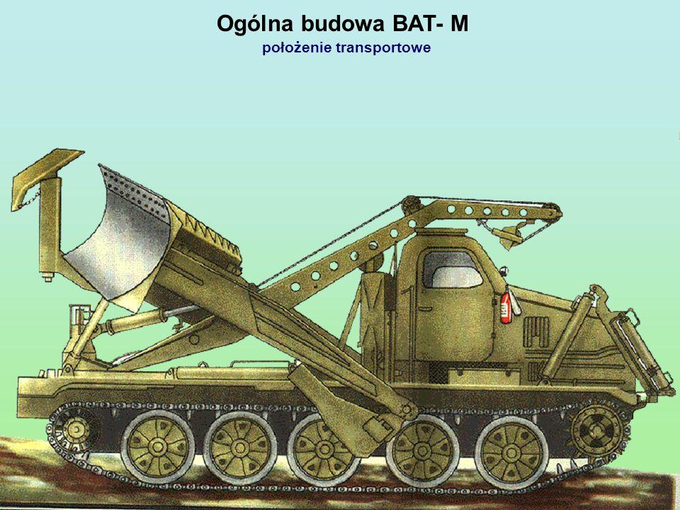 Ogólna budowa BAT- M położenie transportowe