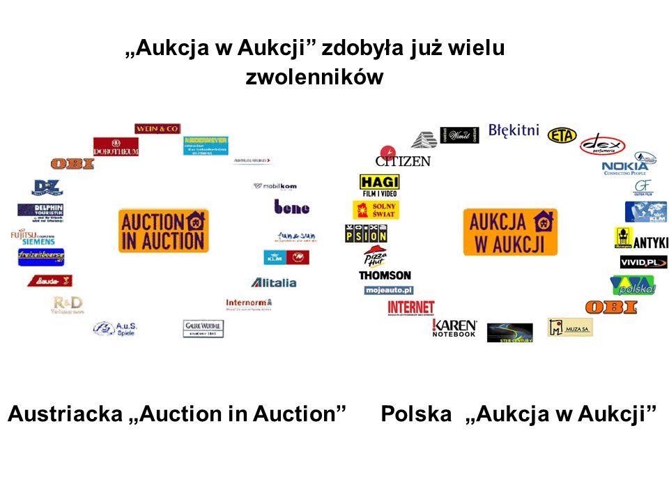Aukcja w Aukcji zdobyła już wielu zwolenników Polska Aukcja w AukcjiAustriacka Auction in Auction