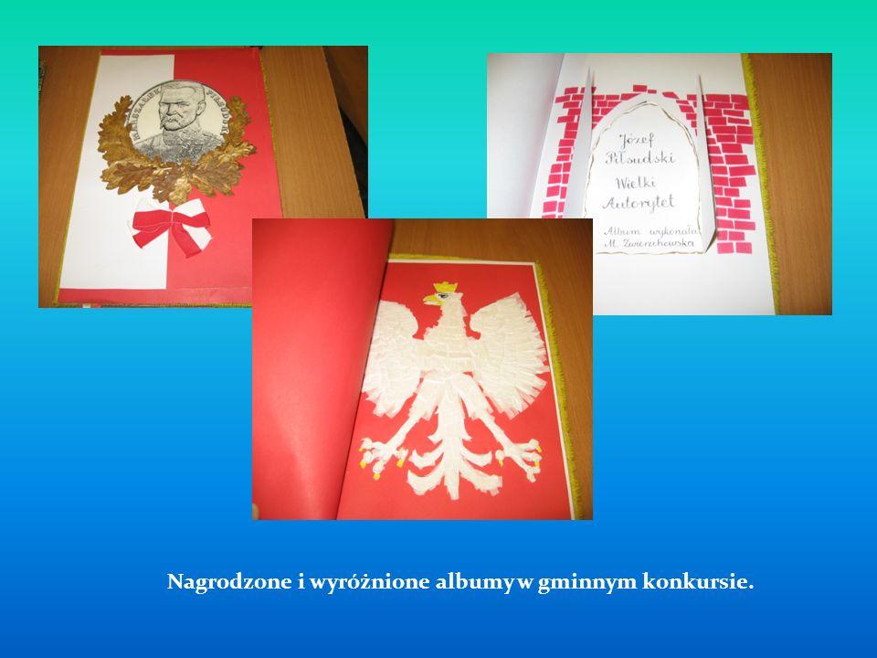 Nagrodzone i wyróżnione albumy w gminnym konkursie.