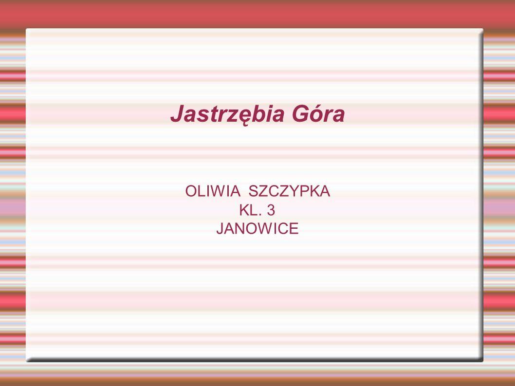 Jastrzębia Góra OLIWIA SZCZYPKA KL. 3 JANOWICE