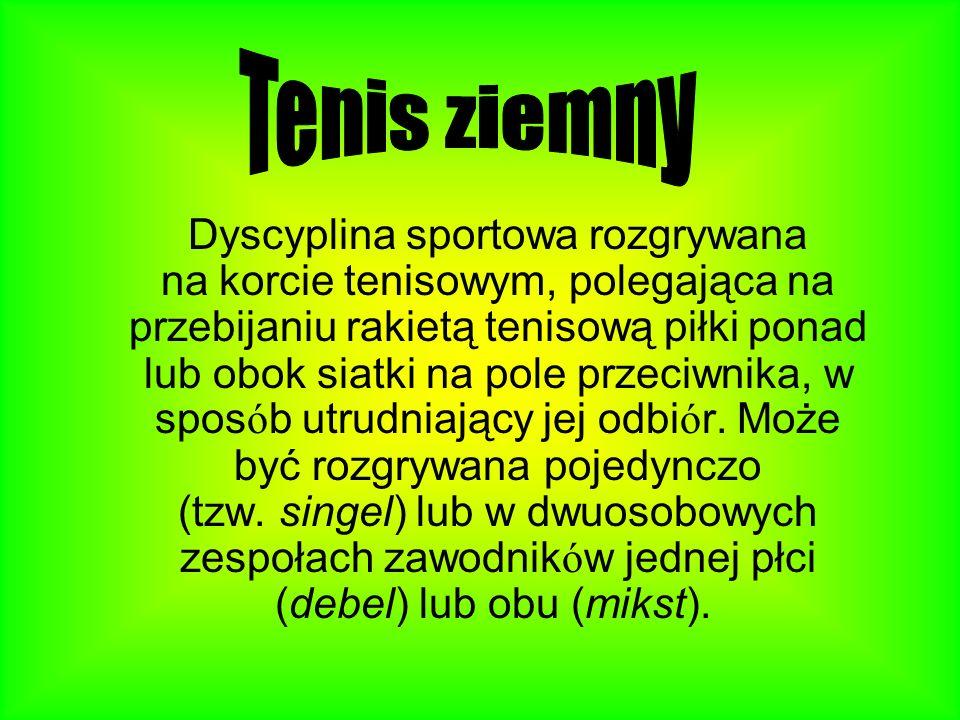 Moja przygoda z tenisem Swój pierwszy dzień na treningu pamiętam jak dziś. Bardzo wstydziłam się innych dzieci. Miałam wtedy 7 lat. W końcu trener wra