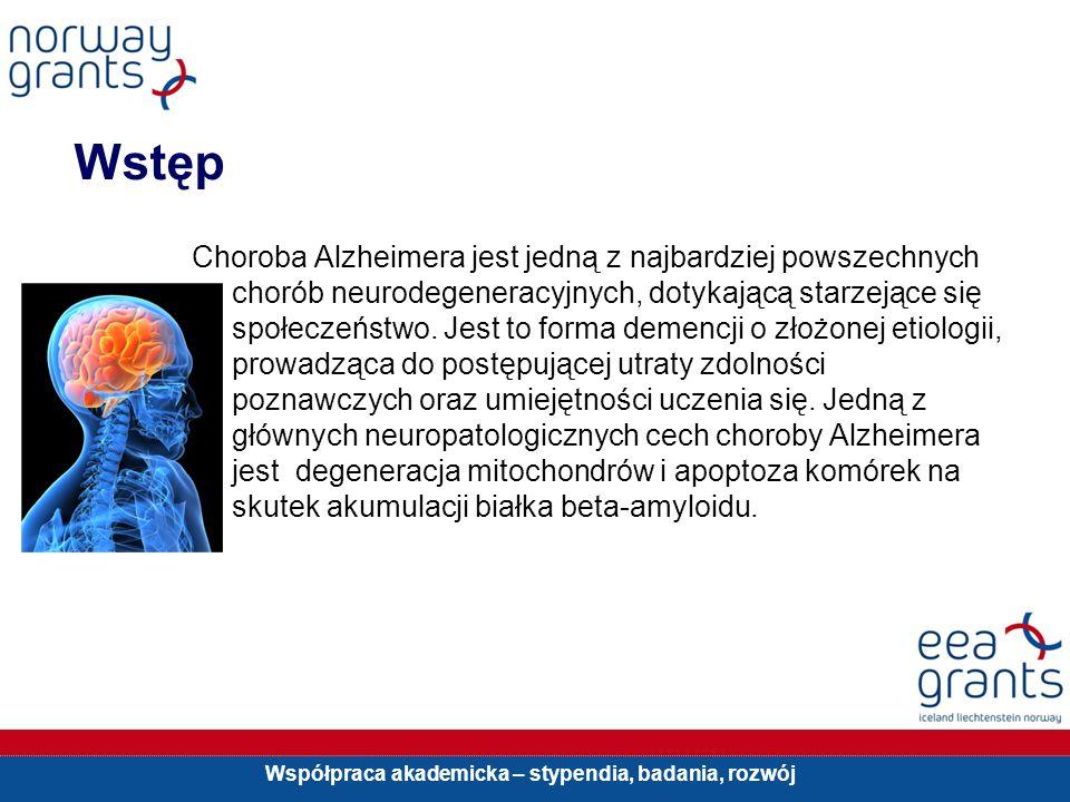 Współpraca akademicka – stypendia, badania, rozwój Wstęp Choroba Alzheimera jest jedną z najbardziej powszechnych chorób neurodegeneracyjnych, dotykaj
