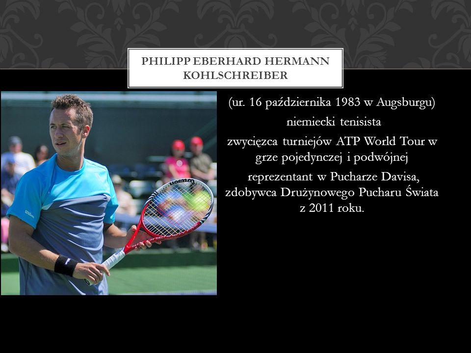 (ur. 16 października 1983 w Augsburgu) niemiecki tenisista zwycięzca turniejów ATP World Tour w grze pojedynczej i podwójnej reprezentant w Pucharze D