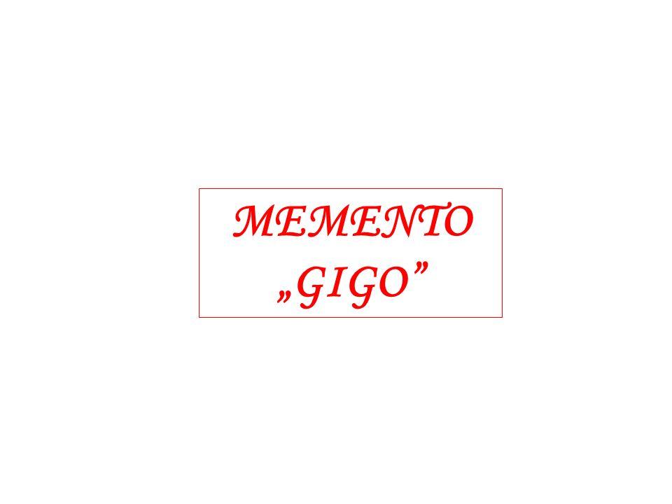 MEMENTO GIGO