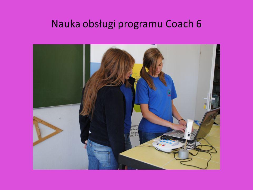 Nauka obsługi programu Coach 6