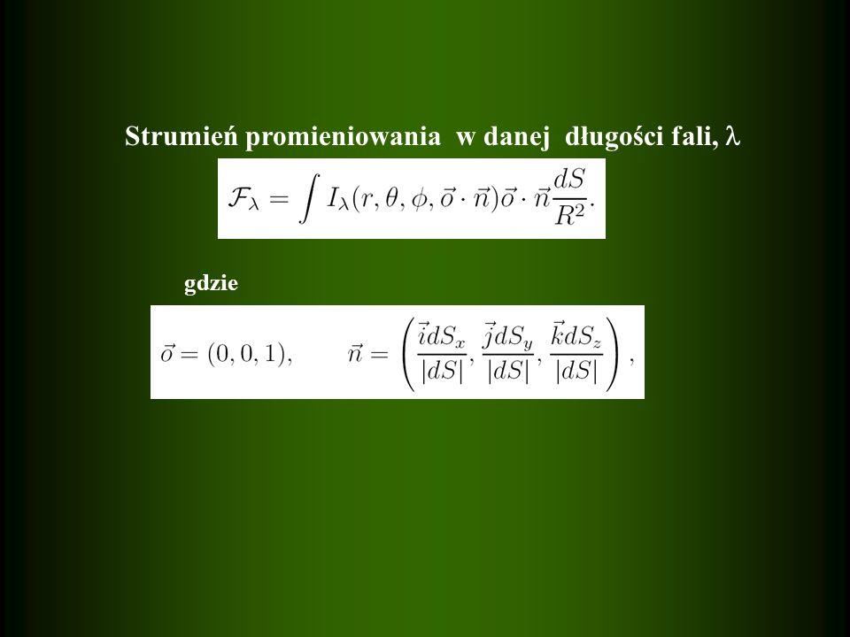 Składowe przesunięcie Lagrangea w układzie nieruchomym Składowe przesunięcie Lagrangea w układzie nieruchomym