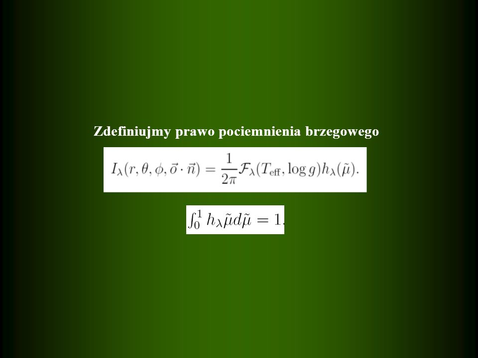 Składowe przesunięcie Lagrangea w układzie obserwatora Składowe przesunięcie Lagrangea w układzie obserwatora