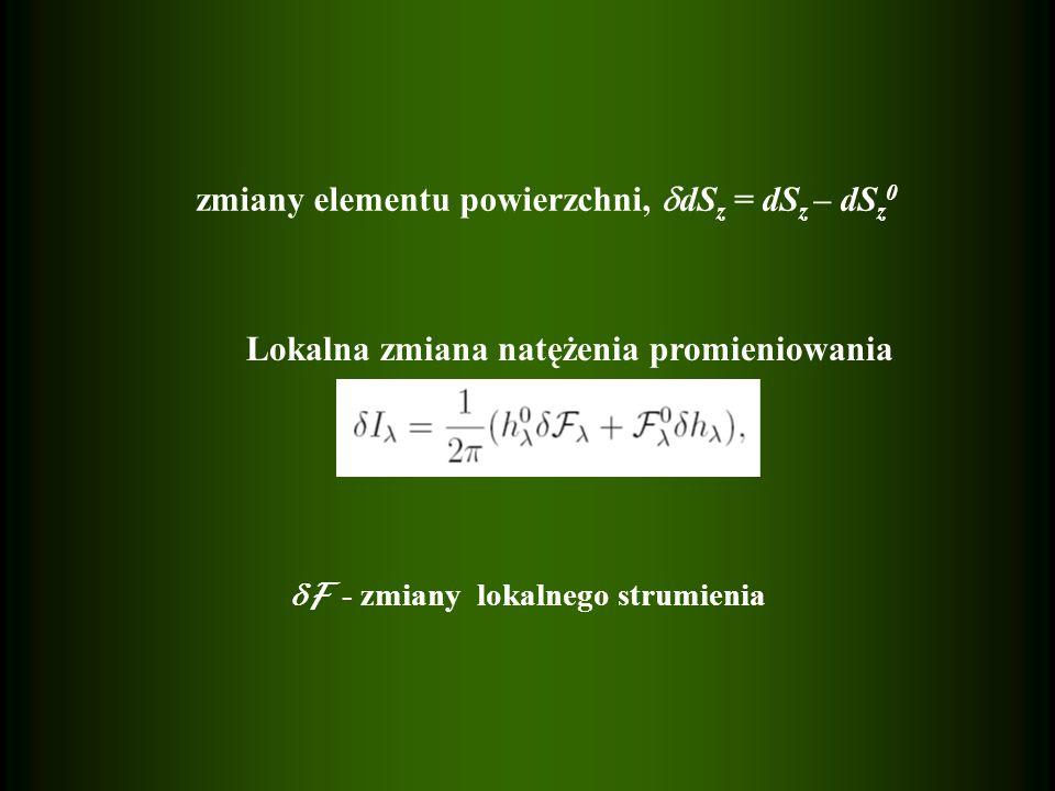 Wektor jednostkowy w kierunku obserwatora (cos, -sin, 0), więc radialna składowa w układzie obserwatora wynosi