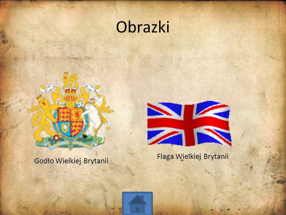 Obrazki Godło Wielkiej Brytanii Flaga Wielkiej Brytanii