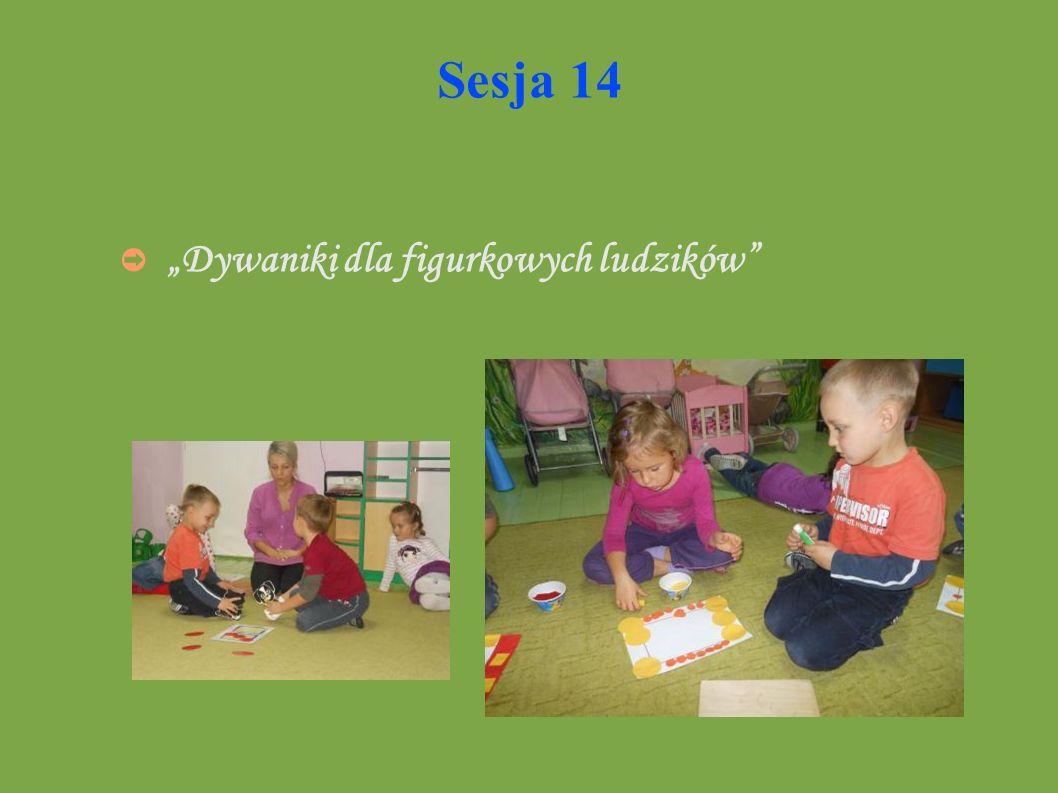 Sesja 14 Dywaniki dla figurkowych ludzików