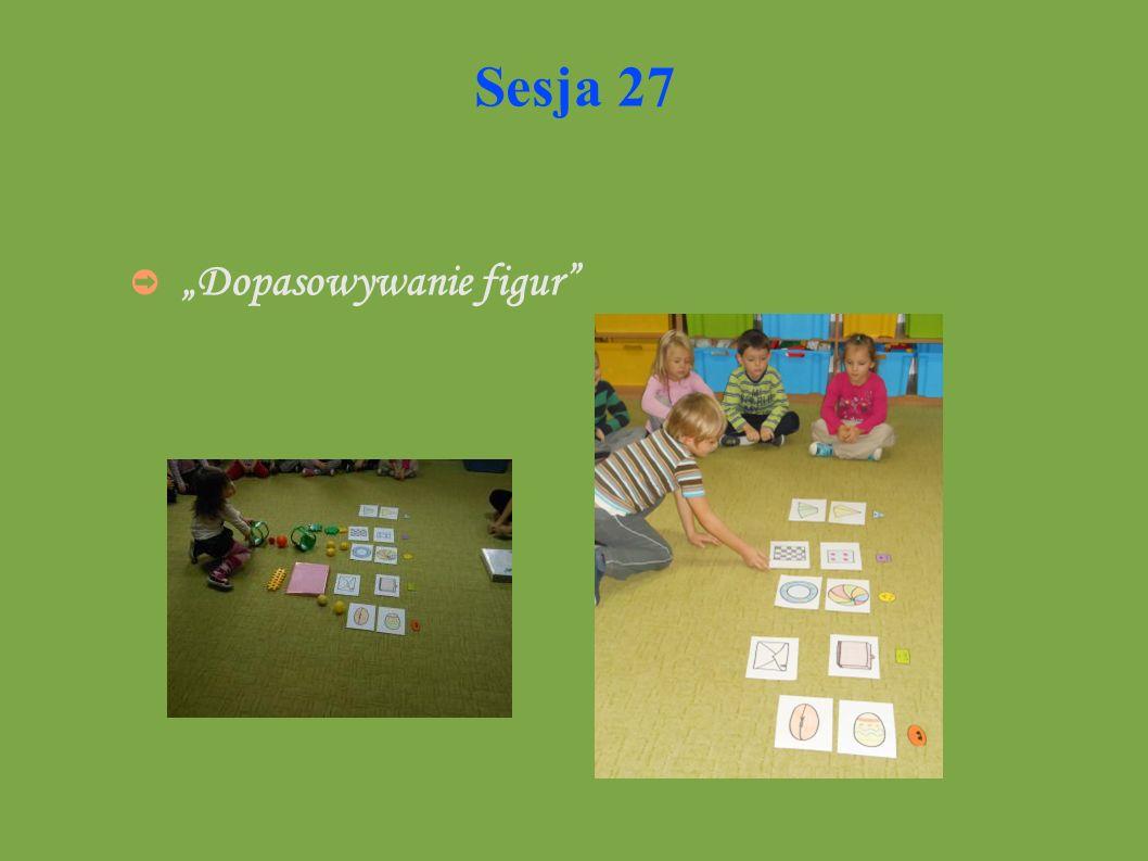Sesja 27 Dopasowywanie figur