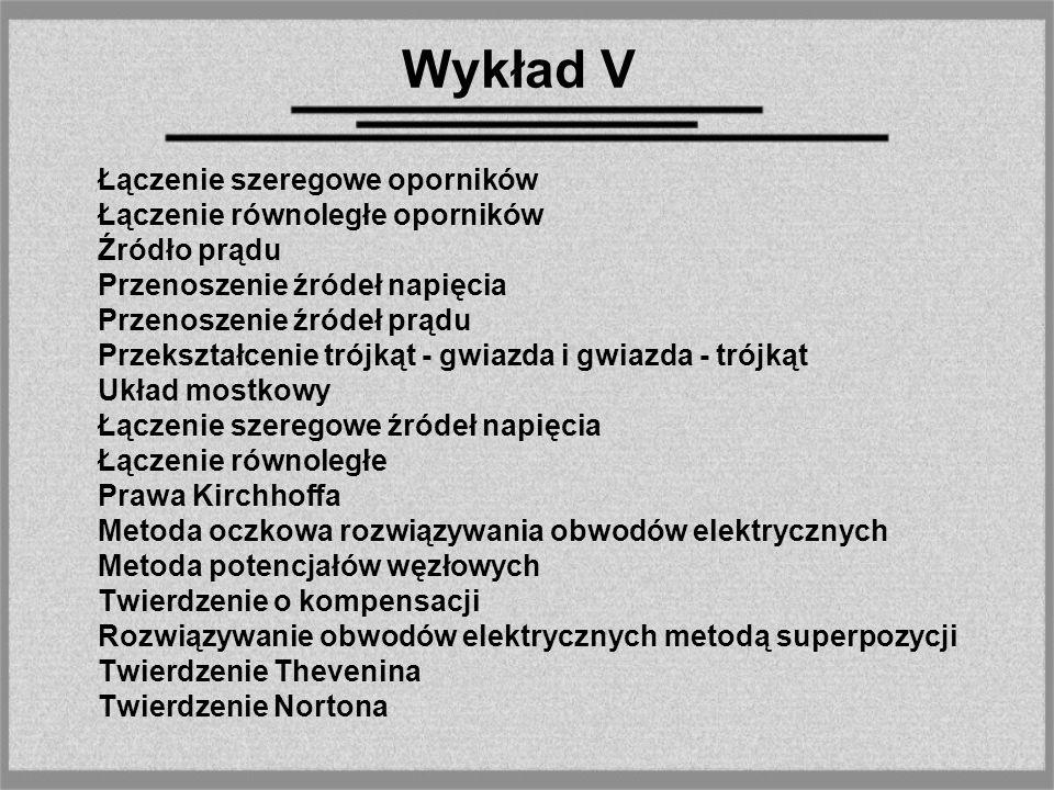 Łączenie szeregowe oporników Rys 1.