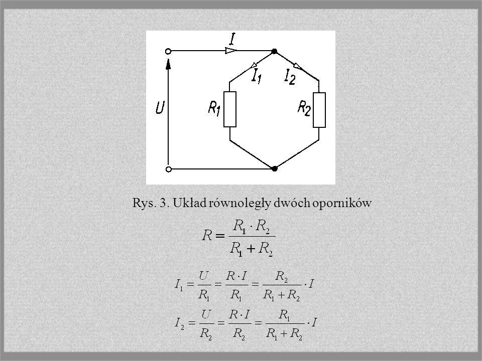 Rezystancje gałęzi trójkąta symetrycznego są trzy razy większe od rezystancji gałęzi równoważnej mu gwiazdy symetrycznej.