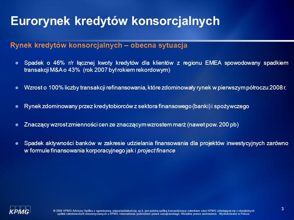 23 © 2009 KPMG Advisory Spółka z ograniczoną odpowiedzialnością sp.k.