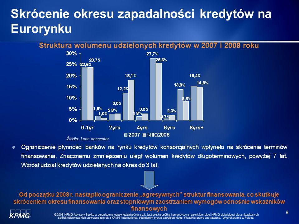16 © 2009 KPMG Advisory Spółka z ograniczoną odpowiedzialnością sp.k.