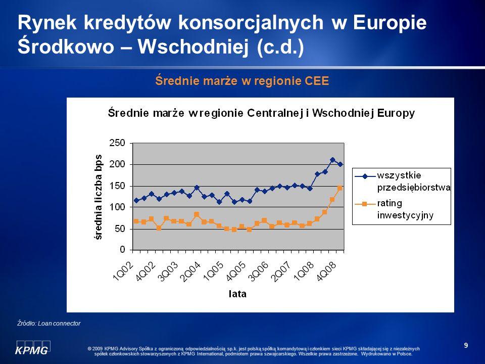8 © 2009 KPMG Advisory Spółka z ograniczoną odpowiedzialnością sp.k. jest polską spółką komandytową i członkiem sieci KPMG składającej się z niezależn
