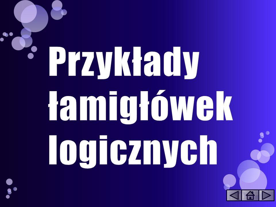 http://www.pazyl.pl/zagadki_logicz ne/img/akari_uklad_maly2.gif Zadanie polega na zaciemnieniu wszystkich białych pól diagramu tak, aby żadne pomarańczowe koło nie znajdowało się w polu oddziaływania drugiego (podświetlone kratki).