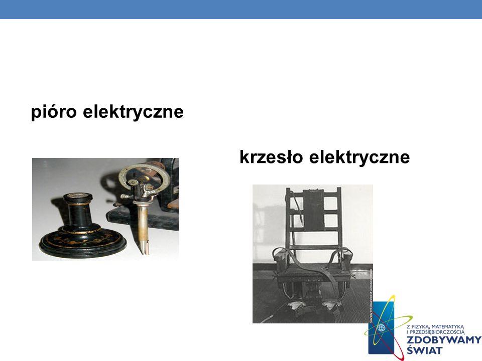 pióro elektryczne krzesło elektryczne