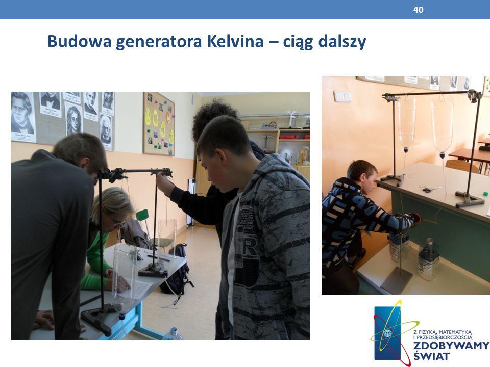 Budowa generatora Kelvina – ciąg dalszy 40