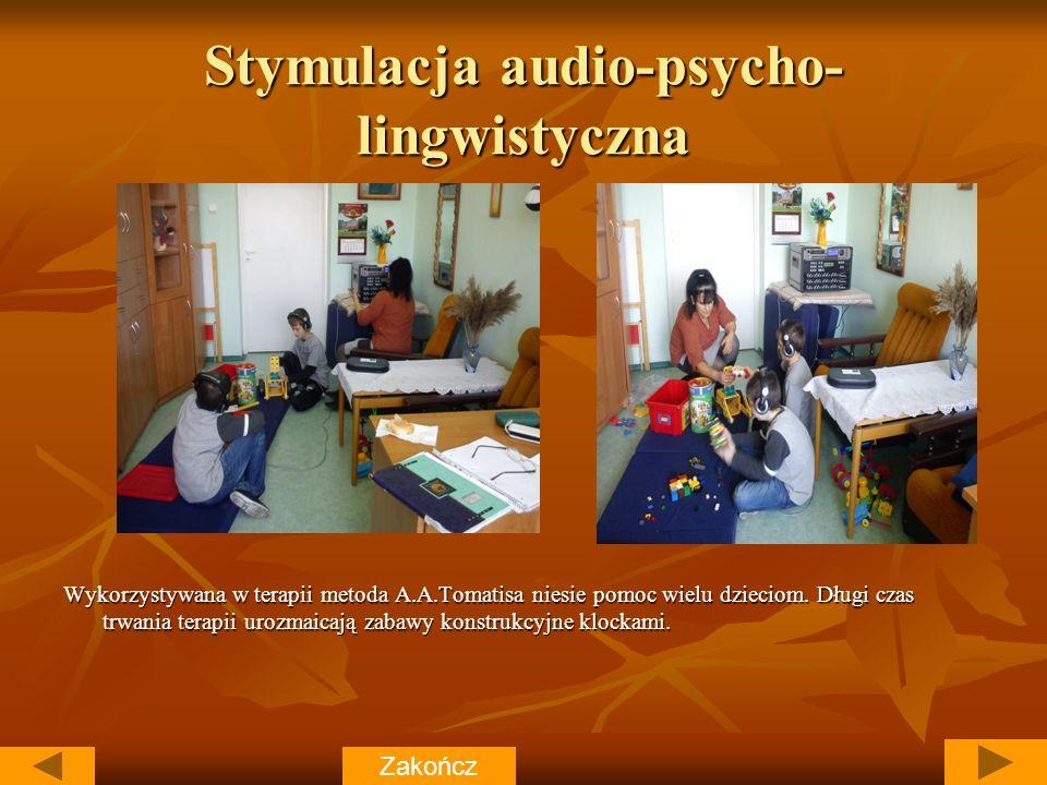 Stymulacja audio-psycho- lingwistyczna Wykorzystywana w terapii metoda A.A.Tomatisa niesie pomoc wielu dzieciom.