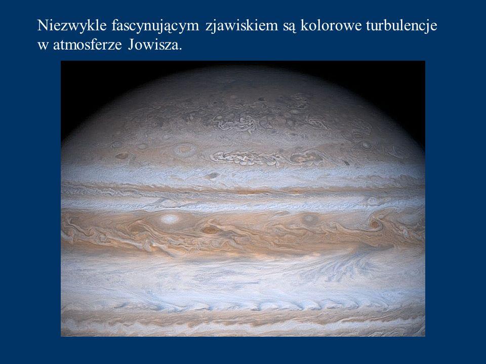 Następna planeta, którą od Słońca dzieli 40 min. lotu to Jowisz - największa i najbardziej masywna w całym Układzie Słonecznym.