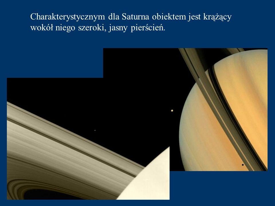 Saturn to ostatnia planeta którą obserwujemy okiem nieuzbrojonym.