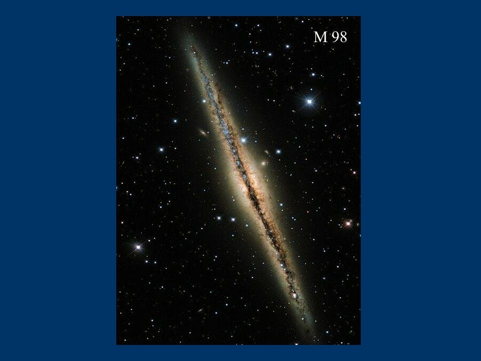 M104 Sombrero M51 Do odwiedzenia każdej z tych galaktyk potrzebujemy kilkadziesiąt milionów lat